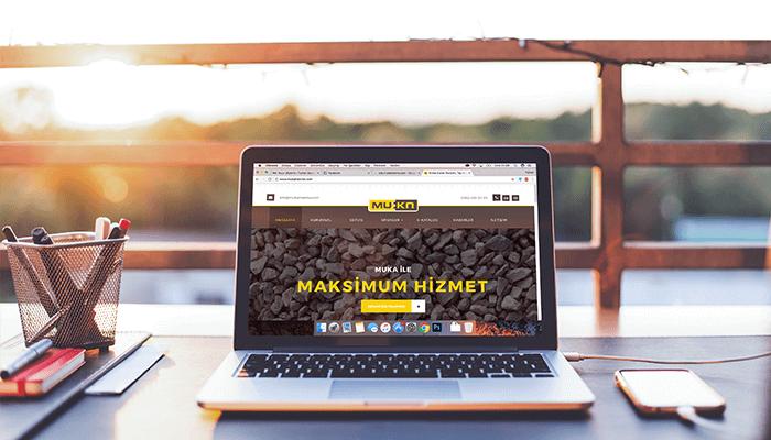 Muka Makina Web Sitesi