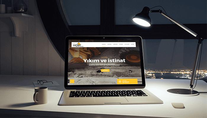 Üçler Hafriyat Web Sitesi