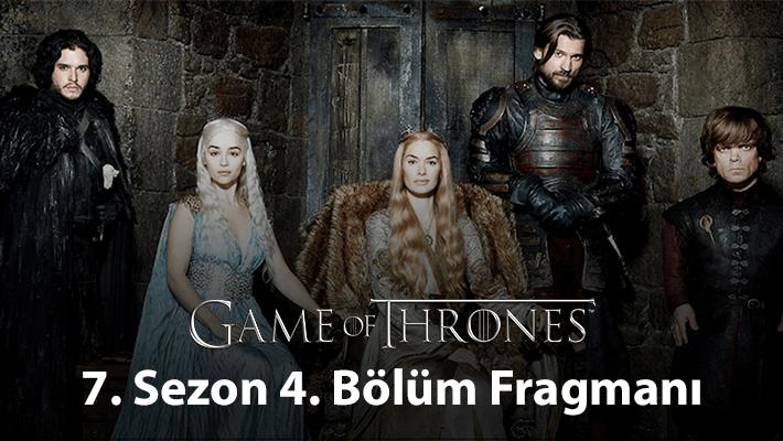 Game of Thrones 7.Sezon 4.Bölüm Fragmanı