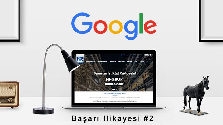 Google Başarı Hikayesi 2:Nrgrup Mantolama