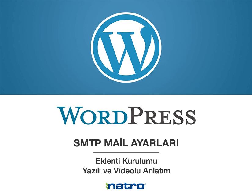 Natro WordPress SMTP Mail Ayarları