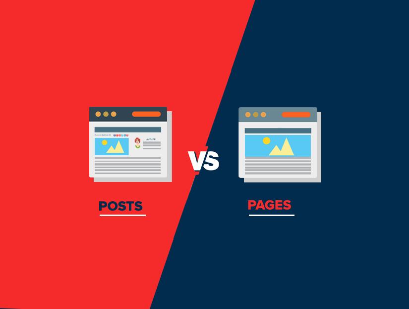 WordPress'te Yazılara Göre Sayfalar Arasındaki Fark Nedir?