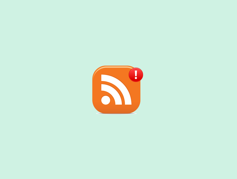 WordPress RSS Feed Hataları Nasıl Düzeltilir
